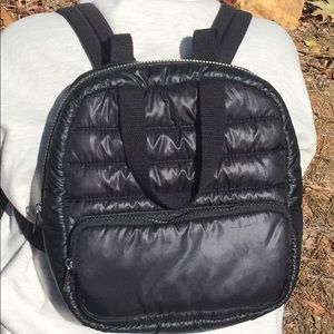 Mossimo Supply Co. Bags - Mossimo Supply Co black quilted backpack bag .